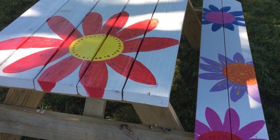 Peace Park Picnic Tables